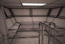 Sci Fi Interior Corridor 3D Model