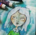 Art Journallig, Painting, Sketching / Art Journallig, Painting, Sketching, Doodles and more.