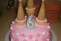 Solvei's 3rd Princess Birthday Cake / Needs to easy for an amateur