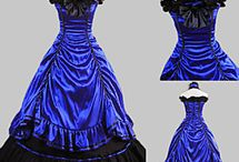 Victoriaanse/ renaissance/ oud lijkende jurken