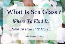 Sea Glass craft ideas