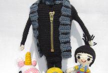 Crochet, tricot, telas e hilos / by Mayra Maldonado