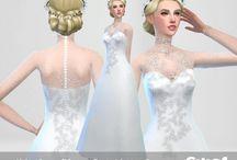 Sims 4 vestidos