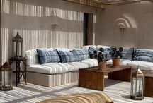 Life on the patio / Relaxed, shabby chic outdoor spaces that become an extension of your home.