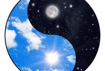 Ying Yang soleil-lune