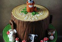metsä aihe kakkuihin