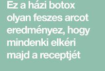 házi botox
