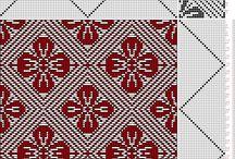 Hand Weaving Draft 組織図