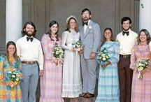 Wedding {vintage} / Sometimes lovely, sometimes lavish and sometimes just plain tacky ... these retro wedding picture are always entertaining!