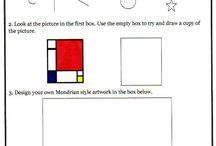 Art worksheets / by Paul Phillips