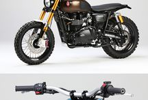 Scrambler Motorcycle / Scrambler Motorcycle Custom Design