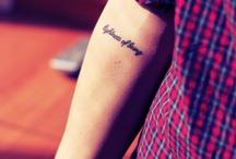 Tattoos / by Kelsea Sawka