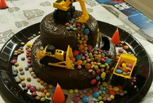 Bauarbeiter-Geburtstag