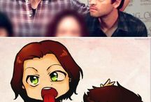 Supernatural with gay stuff