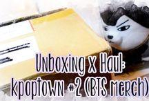 Kpop Unboxing x haul