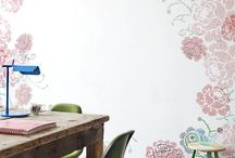 Wallpapers, prints and patterns
