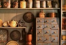 Storage details / It is very important to arrange one's items  in that way to admire them