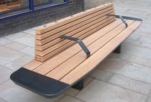 High Street Project (Winchester) / Factory Furniture were approached to design a stylish range of benches for the high street in Winchester.