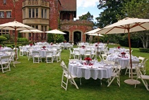 Outdoor Wedding Receptions / by Thornewood Castle