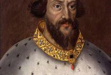 Władcy Anglii Szkocji Irlandii / Portrety władców Anglii, Szkocji, Irlandii, Walii i Wielkiej Brytanii