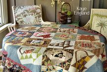 Of Cloth & thread, pieces of the Past / Of Cloth & thread, pieces of the Past by Kaye England - QUILTMANIA Editions http://www.quiltmania.com/organisation/la-boutique.html?type_produit=L