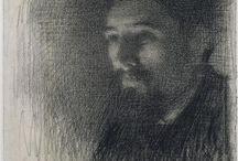 Georges Seraut, tra impressionismo e puntinismo :  la mescolanza ottica