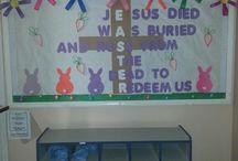 Sunday School Bulletin Boards / by Alicia Rausch