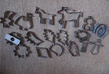 Vintage Cookie Cutters -  Nästan antika pepparkaksmått