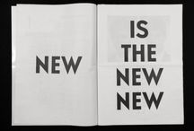 NEW IS THE NEW NEW / fw inspiration / London