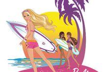 Barbie (frames and arts on cartoons)