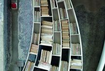 Bookshelves  / by Clark Patrick
