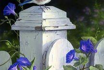садовая  птица