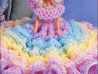 Crochet Barbie Doll / Amazing what you find when you scroll down a board of 2000 pins or more. I had totally forgot all about these pins. / by Grace Dunn