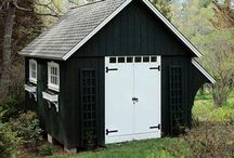 Shed Love / Replacing the shed in my garden, looking for inspiration for storage.