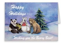 Holiday Inspired Art, Themes, & Gifts / Art  and gifts for the holidays including Christmas, Halloween, and Valentine's Day.