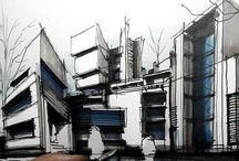 architectural sketchbook
