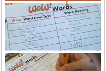 Kindergarten- Vocabulary / by Amber Puckett