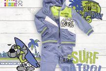 Kolekcja SURF PATROL / Na chłodniejsze dni dres dla chłopców. Idealny na swobodną zabawę na dworze, rower, grę w piłkę lub bieganie.