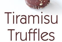 truffles and baked goods