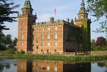 Hrady, zámky, paláce Škandinávia