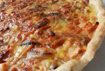 tartes salées / pizzas