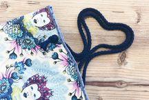 Tasche / Einfach zu nähen, für tolle Stoffe