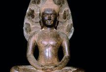 Buddha protected by the naga Mucilinda / Buddha protected by the naga Mucilinda