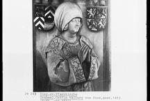Schaube / 1450-1500 Germany. Woman's Schaube