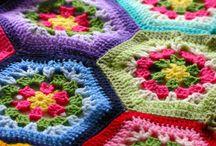 Babydekenvoorbeelden / Kleurcombinaties