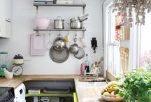 small spaces / small apartment inspiration