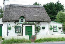 Ierland moodboard huis buitenkant