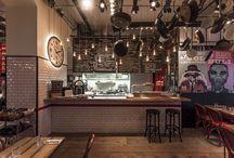 Retro style restaurant