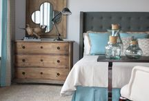 bedrooms / by Errin Sieling