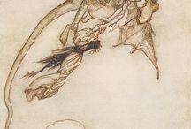 DRAGONS / Illustrations and art of dragons or winged reptiles
